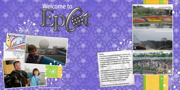 Welcome to EPCOT web